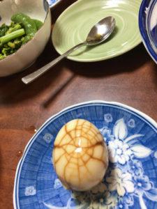 電鍋で作った茶卵