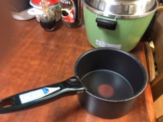 電鍋のサイズ比較