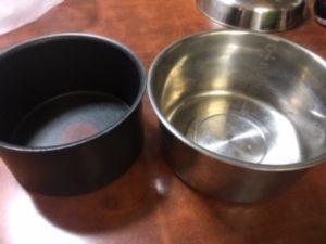 電鍋とティファール大きさ比較