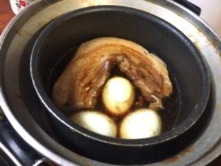 電鍋で作った角煮